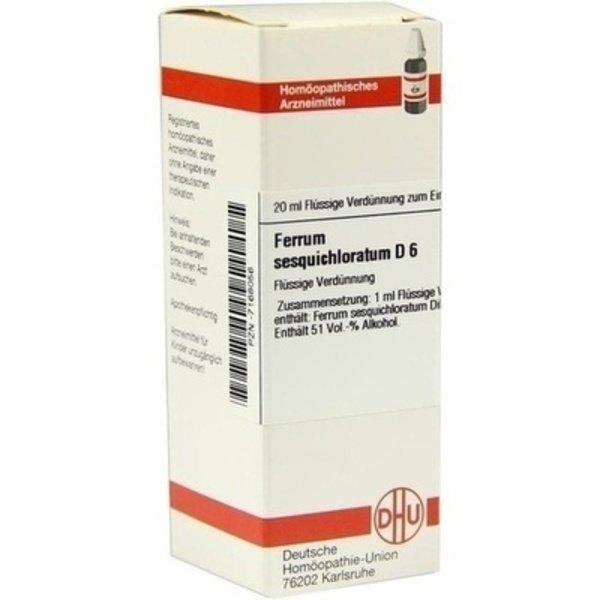 FERRUM SESQUICHLORATUM D 6 Dilution 20 ml