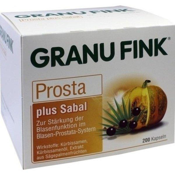 GRANU FINK Prosta plus Sabal Hartkapseln 200 st