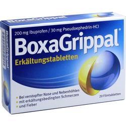 BOXAGRIPPAL Erkältungstabletten 200 mg/30 mg FTA 20 St