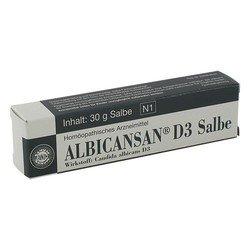 ALBICANSAN D 3 Salbe 30 g