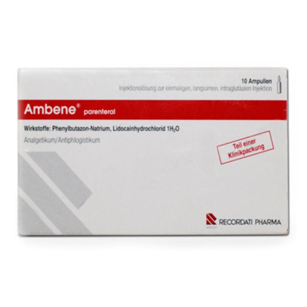 AMBENE Parenteral Ampullen 10 St