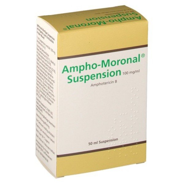 AMPHO MORONAL Suspension 100 mg/1 ml 50 ml