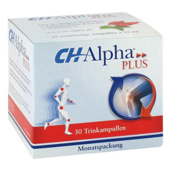 CH ALPHA Plus Trinkampullen 30 St
