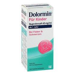 DOLORMIN für Kinder Ibuprofensaft 40 mg/ml Susp. 100 ml