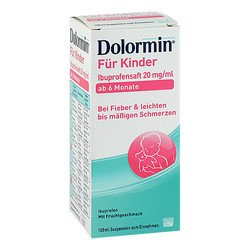 DOLORMIN für Kinder Ibuprofensaft 20 mg/ml Susp. 100 ml