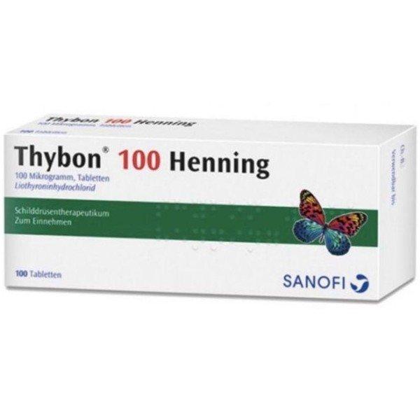 THYBON 100 Henning Tabletten 100 St