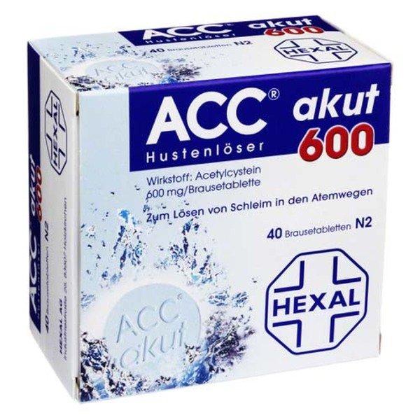 ACC akut 600 Brausetabletten 40 St