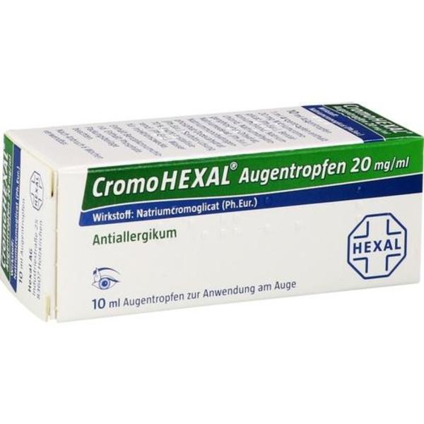 CROMOHEXAL Augentropfen 10 ml