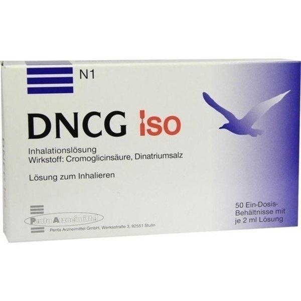 DNCG ISO Lösung für einen Vernebler 50X2 ml