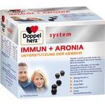 DOPPELHERZ Immun+Aronia system Ampullen 30 St