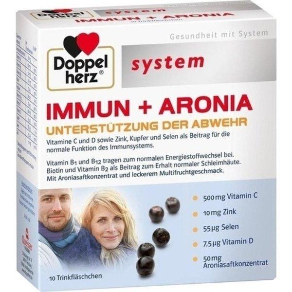 DOPPELHERZ Immun+Aronia system Ampullen 10 St