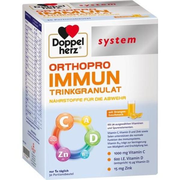 DOPPELHERZ Orthopro Immun Trinkgranulat system 30 St