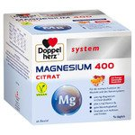 DOPPELHERZ Magnesium 400 Citrat system Granulat 40 Stück  à 6 g