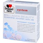 DOPPELHERZ Kollagen Beauty system Trinkfläschchen 10 St