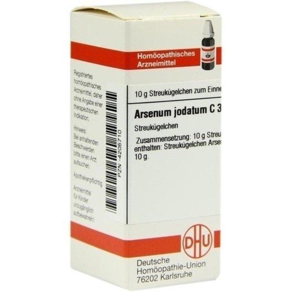 ARSENUM JODATUM C 30 Globuli 10 g