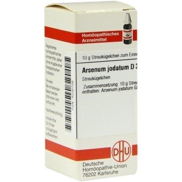 ARSENUM JODATUM D 30 Globuli 10 g