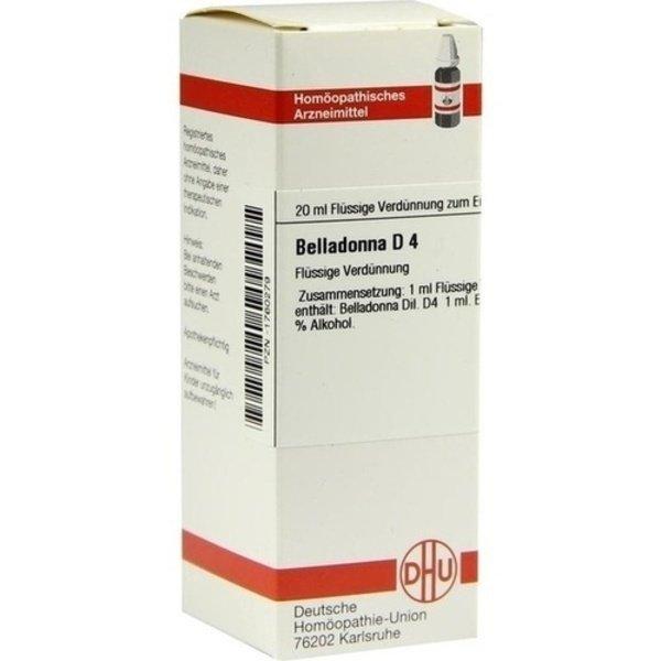 BELLADONNA D 4 Dilution 20 ml