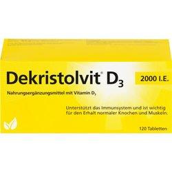 DEKRISTOLVIT D3 2.000 I.E. Tabletten 120 St