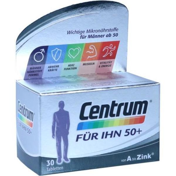 CENTRUM für Ihn 50+ Capletten 30 Stück  à 1.33 g