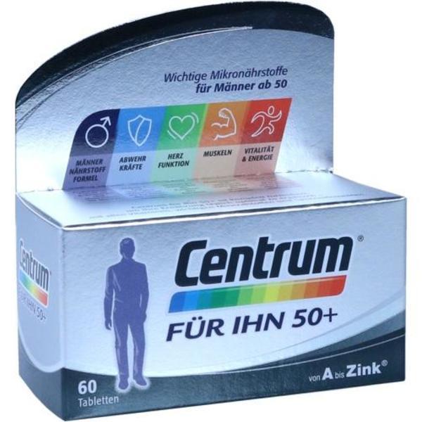 CENTRUM für Ihn 50+ Capletten 60 Stück  à 1.35 g
