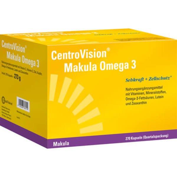 CENTROVISION Makula Omega-3 Kapseln 270 St