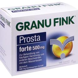 GRANU FINK Prosta forte 500 mg Hartkapseln 140 St