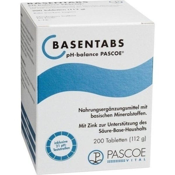 BASENTABS pH Balance Pascoe Tabletten 200 St
