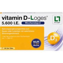 VITAMIN D-LOGES 5.600 I.E. Kautabletten 30 Stück  à 1.4 g