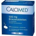 CALCIMED 500 mg Brausetabletten 20 St