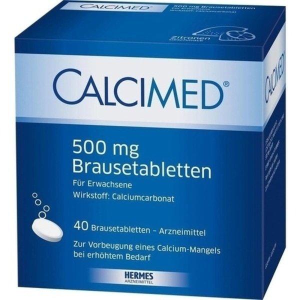 CALCIMED 500 mg Brausetabletten 40 St