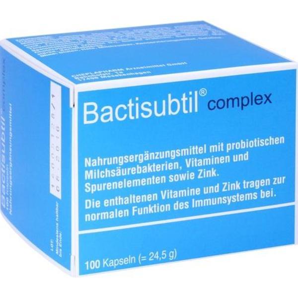 BACTISUBTIL Complex Kapseln 100 Stück  à 100 g