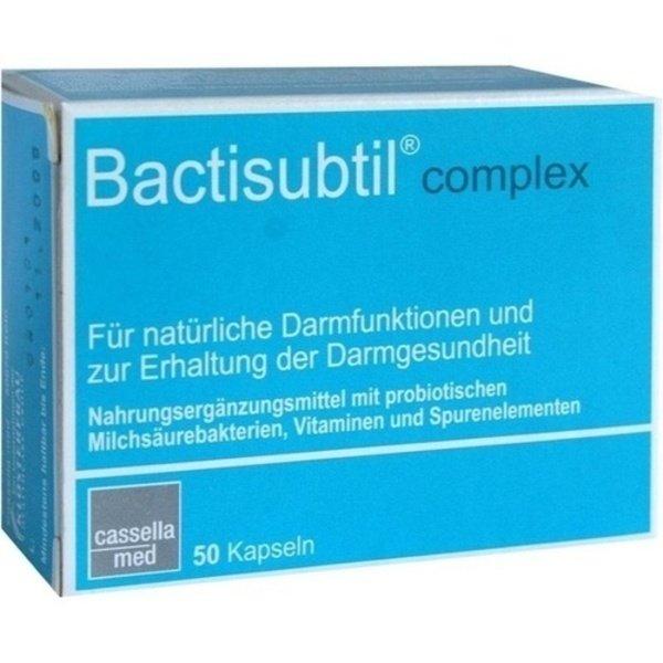 BACTISUBTIL Complex Kapseln 50 Stück  à 50 g