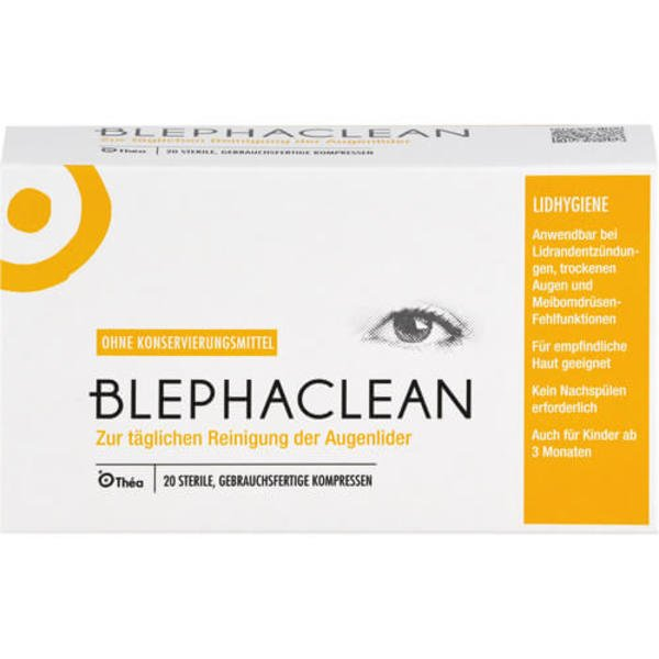 BLEPHACLEAN Kompressen sterile 20 St