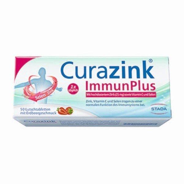 CURAZINK ImmunPlus Lutschtabletten 50 St