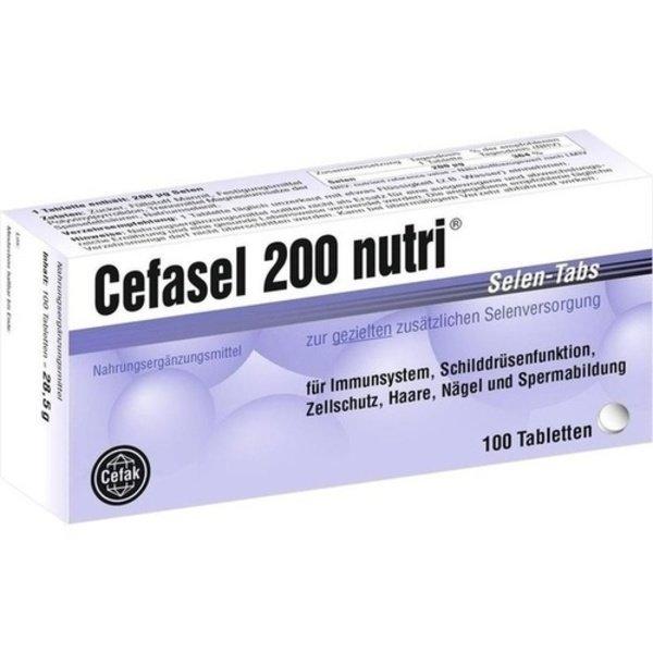 CEFASEL 200 nutri Selen-Tabs 100 Stück  à 0.29 g