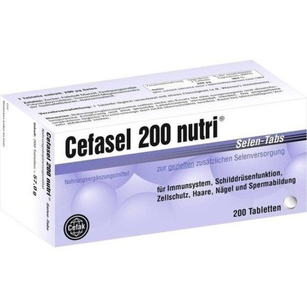 CEFASEL 200 nutri Selen-Tabs 200 St