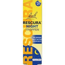 BACHBLÜTEN Original Rescura Night Tropfen alk.frei 20 ml