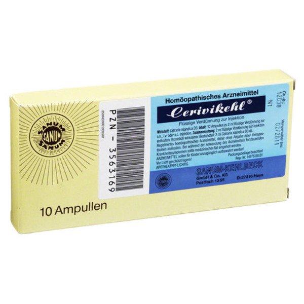 CERIVIKEHL D 3 Ampullen 10X2 ml