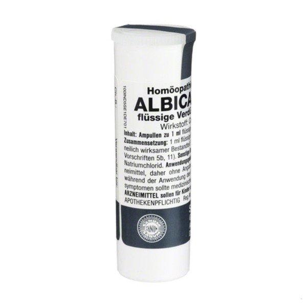 ALBICANSAN D 5 Ampullen 1X1 ml