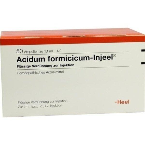 ACIDUM FORMICICUM INJEEL Ampullen 50 St