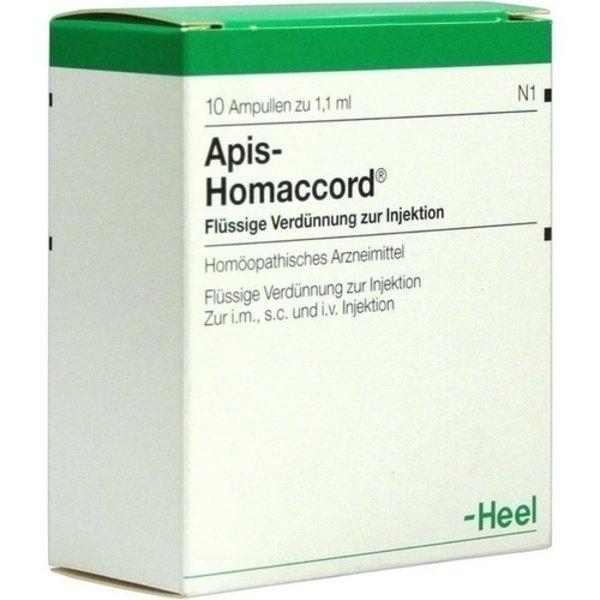 APIS HOMACCORD Ampullen 10 St