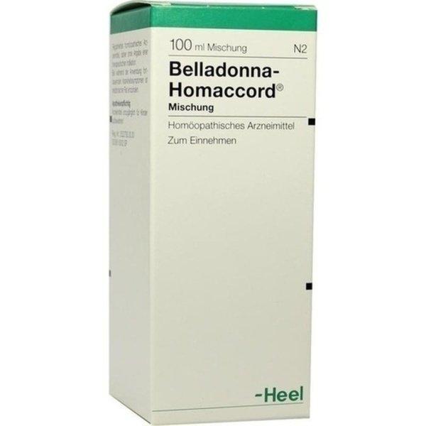 BELLADONNA HOMACCORD Tropfen 100 ml