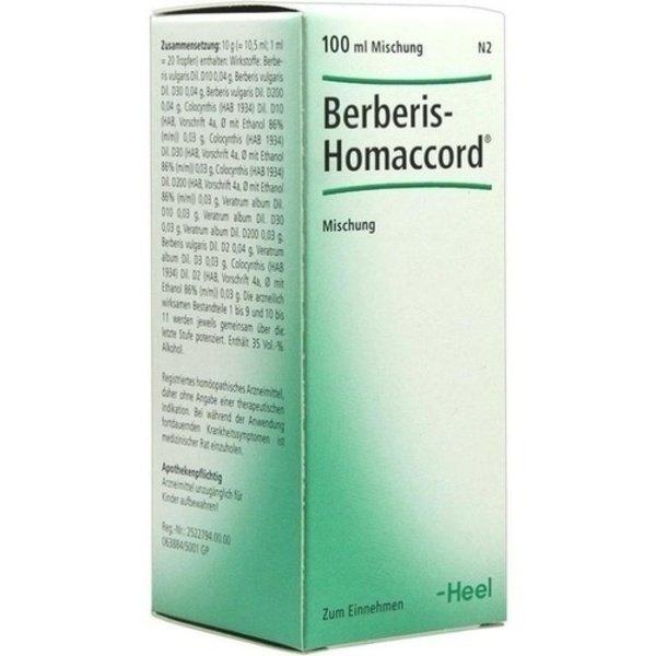 BERBERIS HOMACCORD Liquidum 100 ml