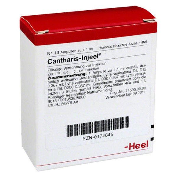 CANTHARIS INJEEL Ampullen 10 St