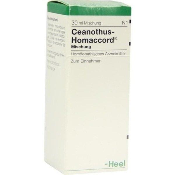CEANOTHUS-HOMACCORD Liquidum 30 ml