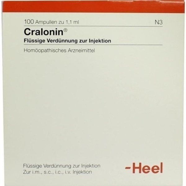 CRALONIN Ampullen 100 St