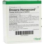DROSERA HOMACCORD Ampullen 10 St