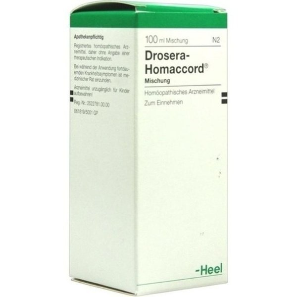 DROSERA HOMACCORD Tropfen 100 ml