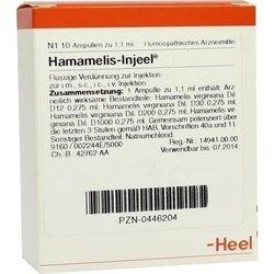 HAMAMELIS INJEEL Ampullen 10 St