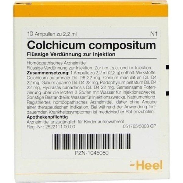 COLCHICUM COMPOSITUM Ampullen 10 St